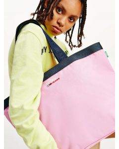 Tasche TOMMY HILFIGER Campus Tote-Bag Pink Daisy