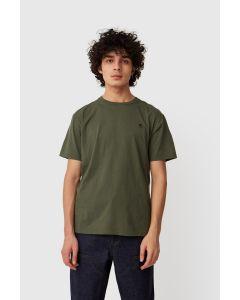 Shirt WOODWOOD ACE T-Shirt Army Green