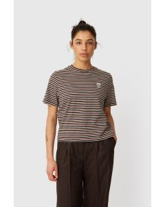 Shirt WOODWOOD Alma T-Shirt Navy Stripes