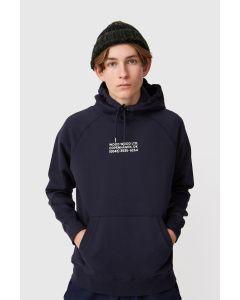 Kapuzensweater WOODWOOD Fred Hoodie Navy