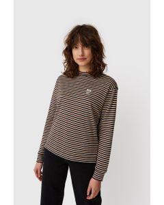 Shirt WOODWOOD Astrid Long Sleeve Navy Stripes