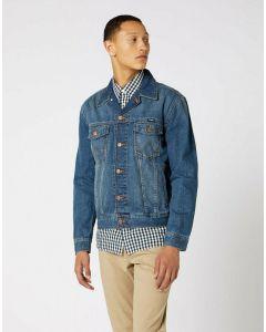 Jeansjacke WRANGLER Classic Denim Jacket Mid Stone