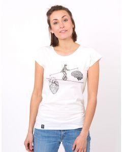 T-Shirt ZERUM Balance White