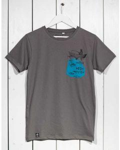 T-Shirt ZERUM Fischer Stone
