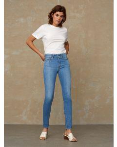 Jeans KINGS OF INDIGO Juno High Veggie Light