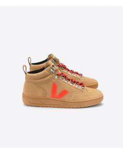 Sneaker VEJA Roraima Suede Women Desert Orange Fluo