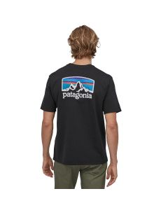 T-Shirt PATAGONIA Fitz Roy Horizons Responsibili-Tee Black